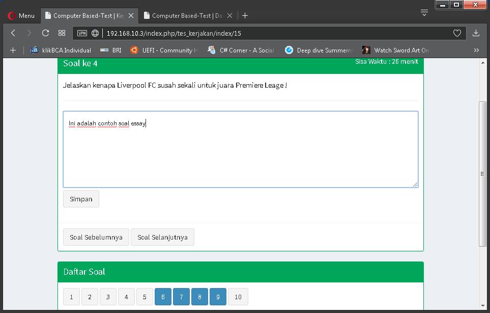 Aplikasi Ujian Online dengan Jawaban Essay – ZYA CBT ...